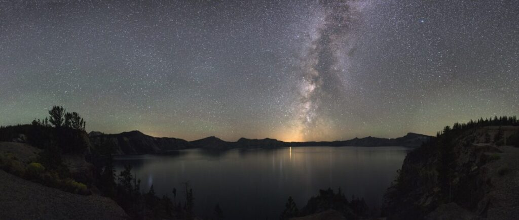 crater Lake Star Gazing