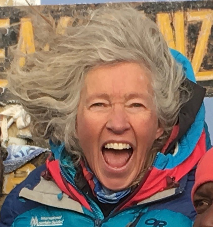 Emily Johnston, Mt. Rainier, Women leader