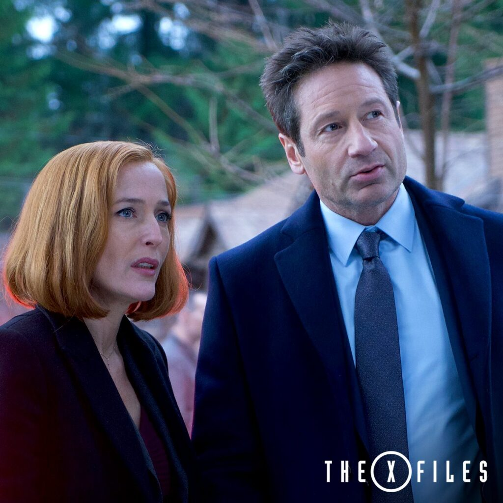 Best Series to binge watch, girls night, X-Files