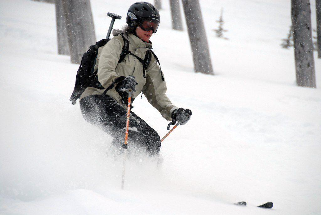 skiing in the Wallowas