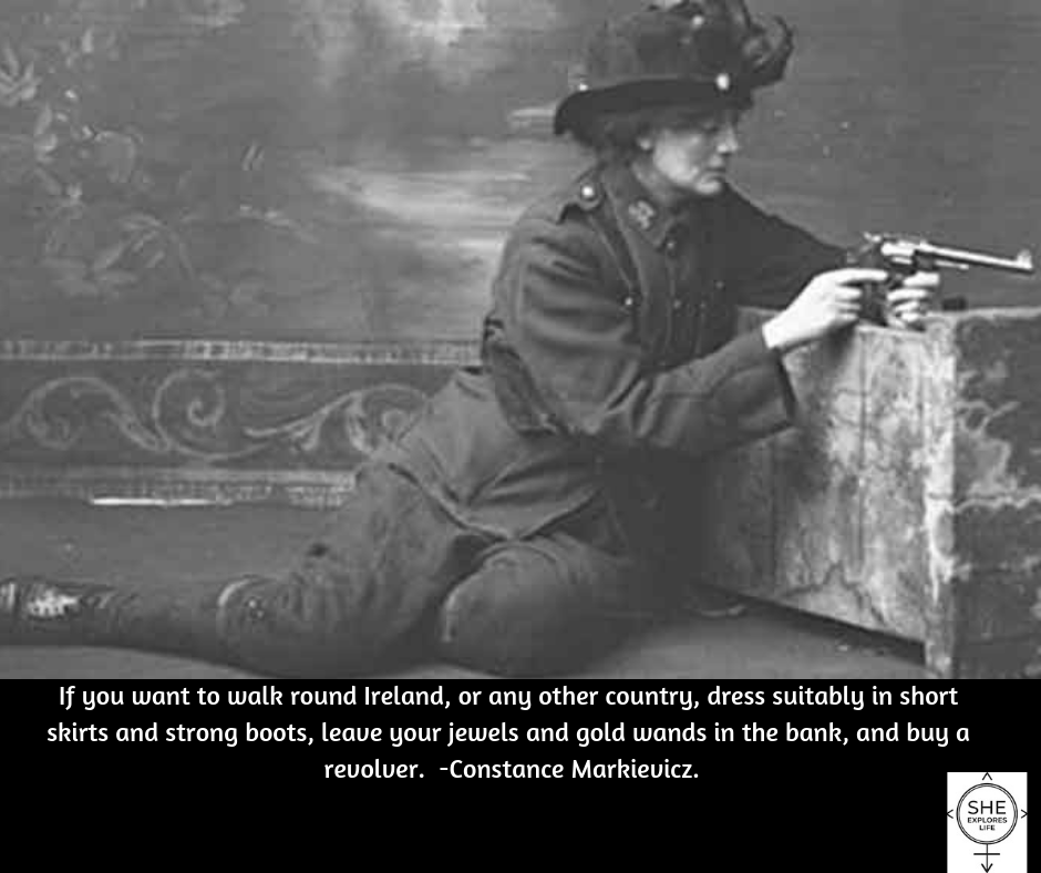 strong Irish woman, quotes