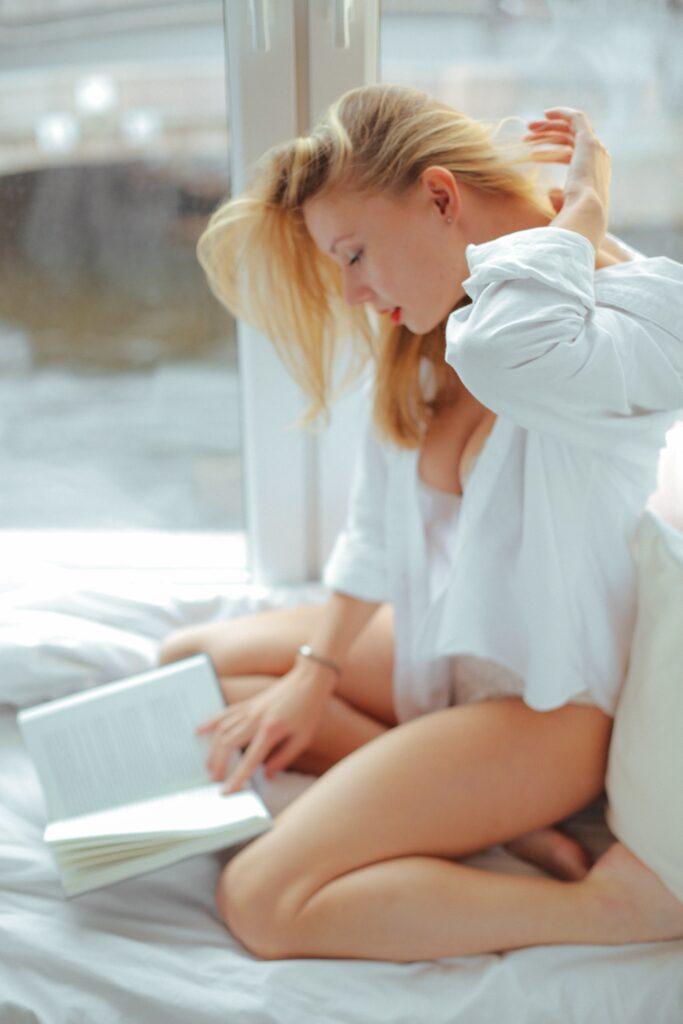 reduce stress, erotic novel