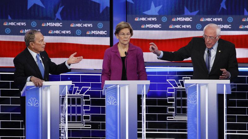 democratic debate, warren