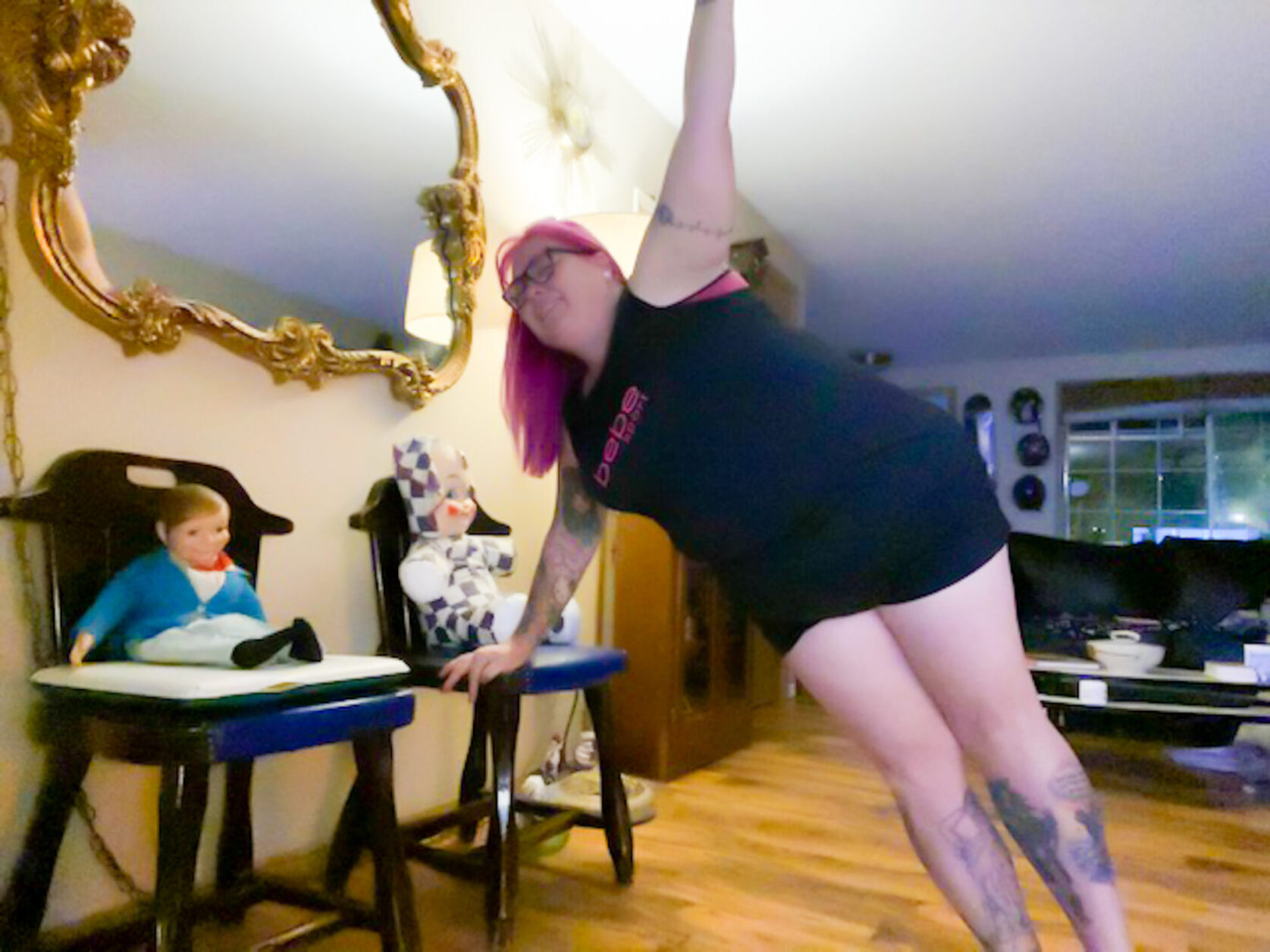 Workout apps, JOYN, Woman Working out