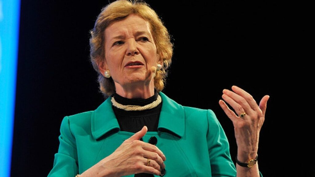 strong Irish woman quotes, mary robinson